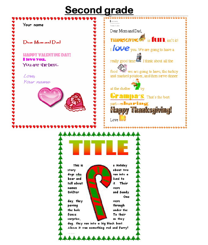 15 a holiday letter for grades 2 6 ask a tech teacher from 55 technology projects for the digital classroom preview available on amazon and scribd fandeluxe Images