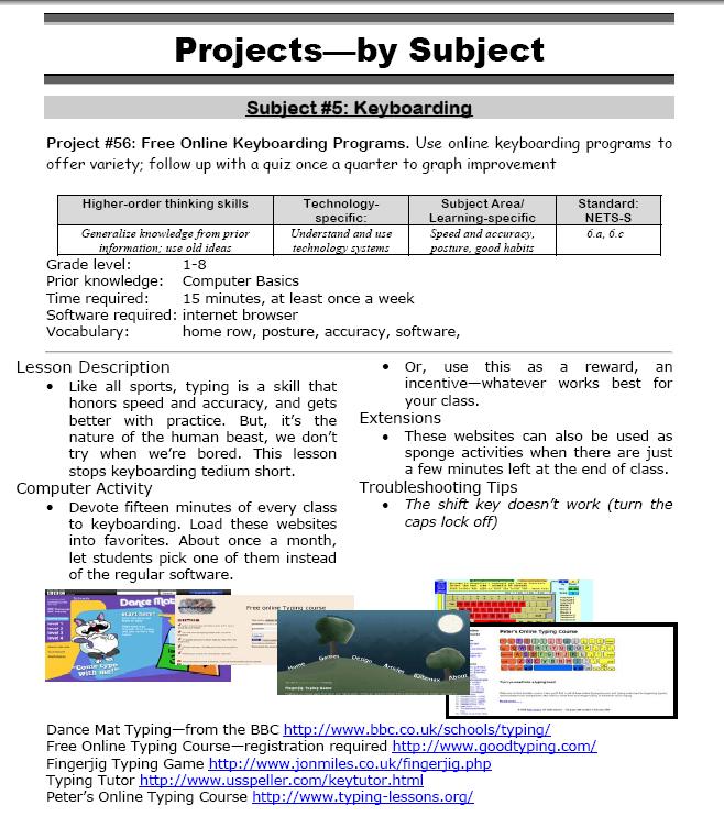 Free online keyboarding software