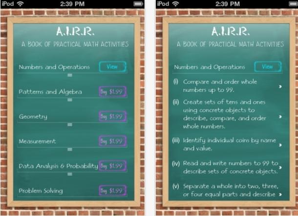 Weekend Website #95: AIRR Math | Ask a Tech Teacher
