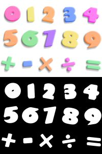 1056140_3d_plastic_numbers_with_alpha