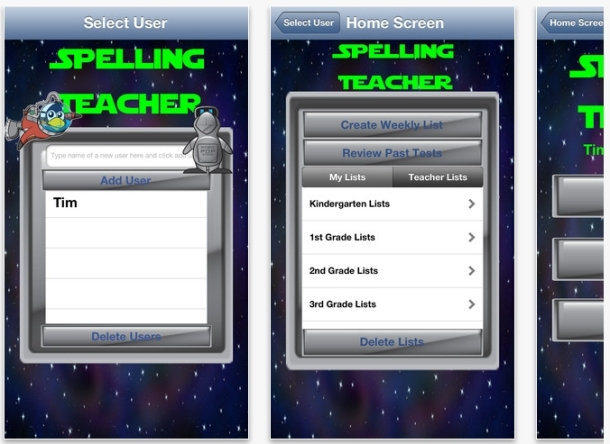 spelling teacher app
