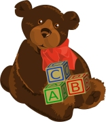 teddy bear letters