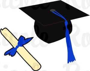 0diploma grad hat